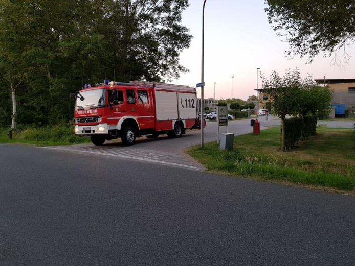 Brand bij Trajectum, een cliënt stak een matras in de brand.