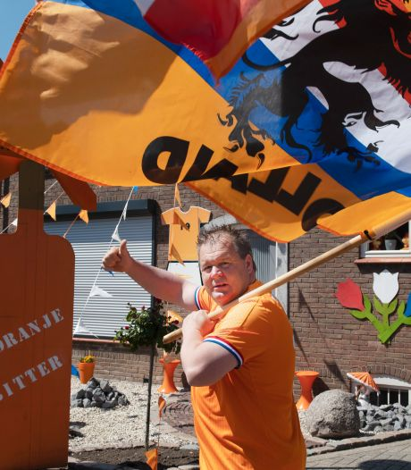 Oranjestraat in Haaften en een Turks-Nederlandse fanzone in Tiel: 'Heb meer vertrouwen in Oranje dan meeste Nederlanders'