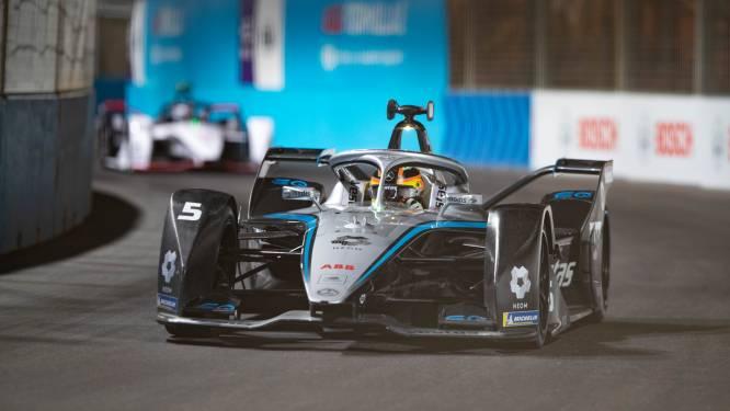 Stoffel Vandoorne start helemaal achteraan en wordt dertiende in tweede manche Formule E