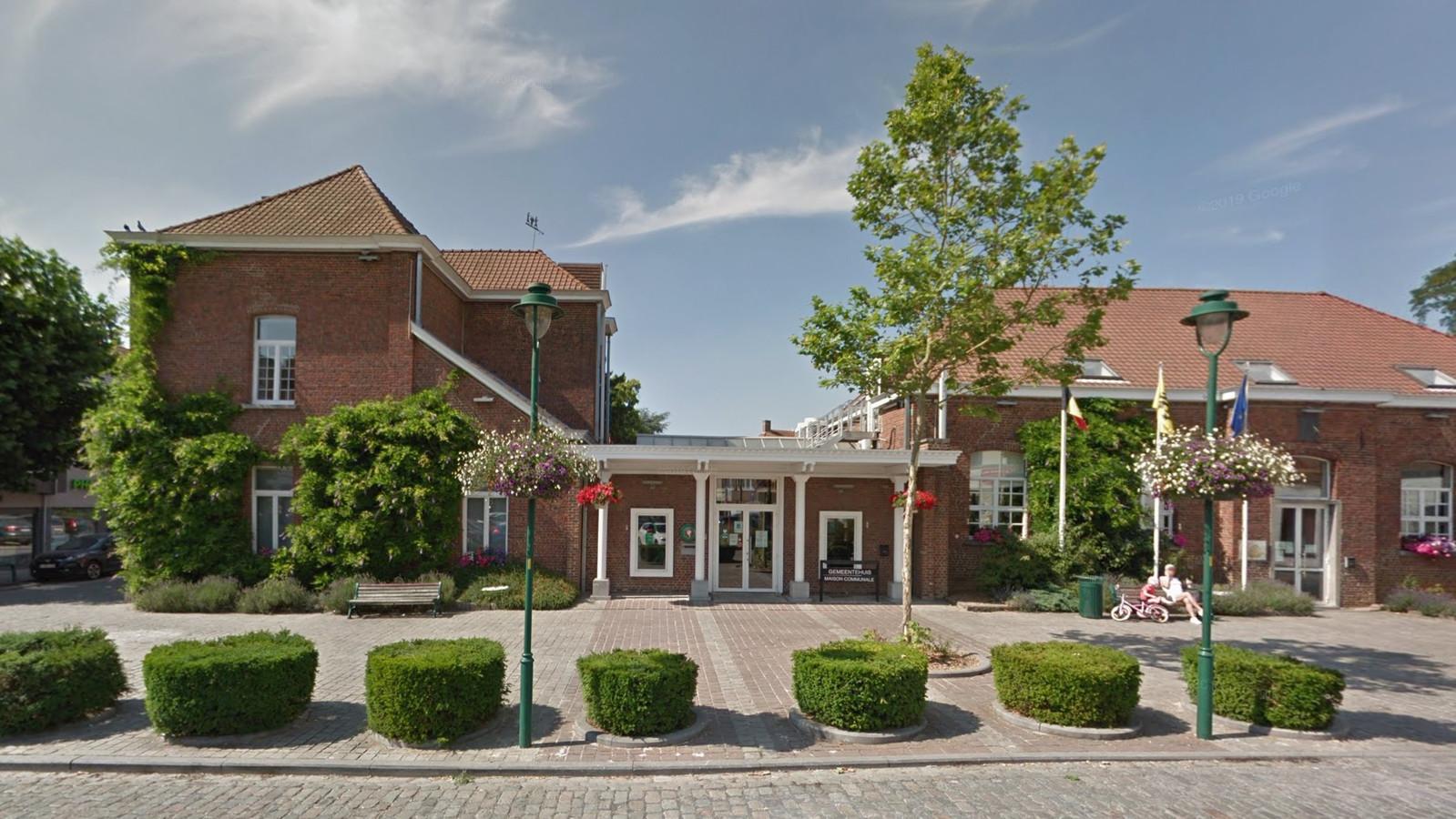 La maison communale de Linkebeek.