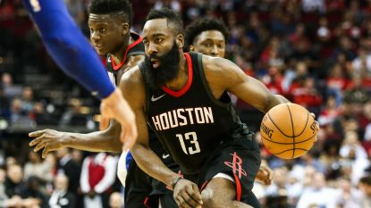 Houston wint na verlenging van Detroit, Cleveland naar play-offs