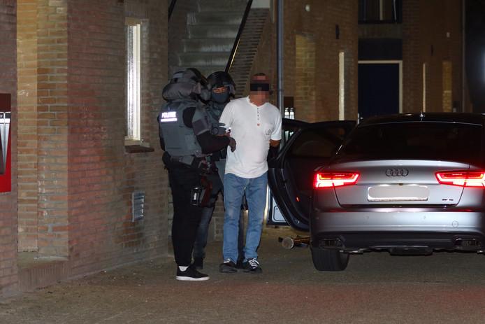 De arrestatie in Oud-Beijerlandg