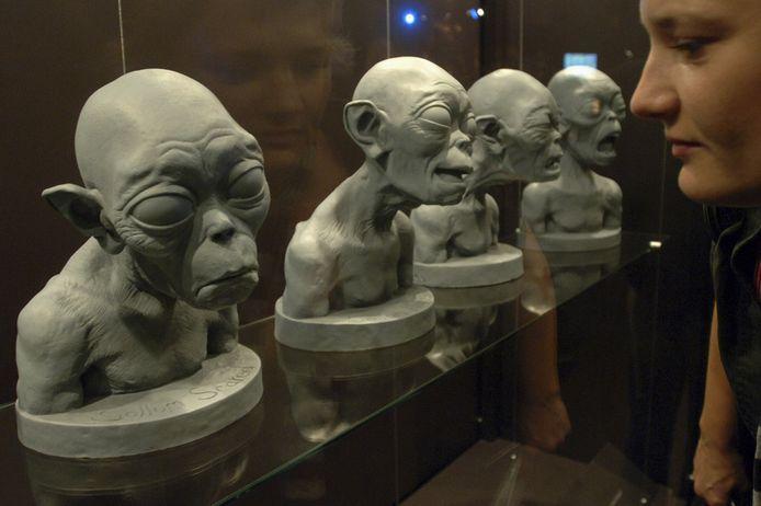 Voorstudies van het karakter Gollum uit de Tolkien-films.