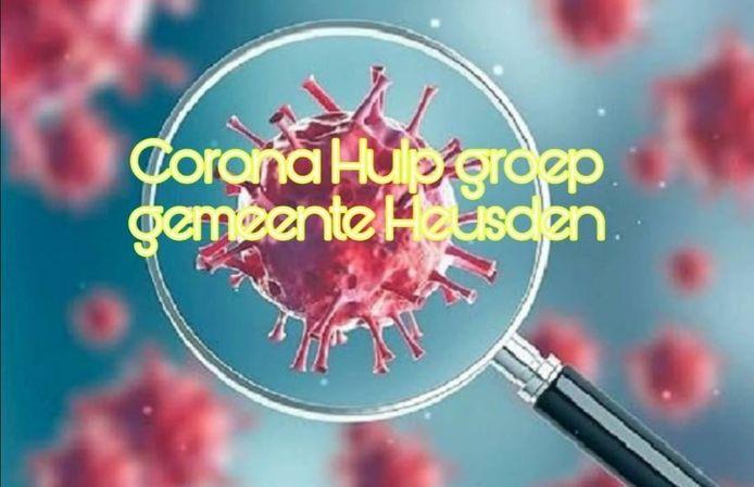 De Corona Hulp groep gemeente Heusden.