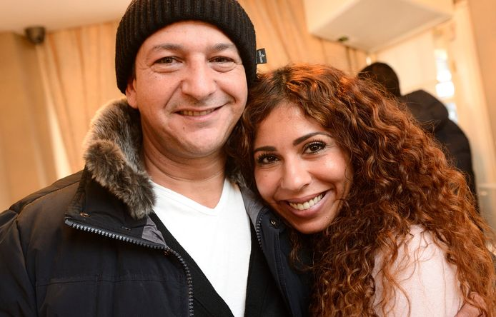 Najib Amhali en zijn vrouw Niama.