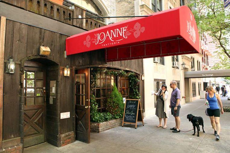 Joanne Trattoria in Manhattan. Beeld