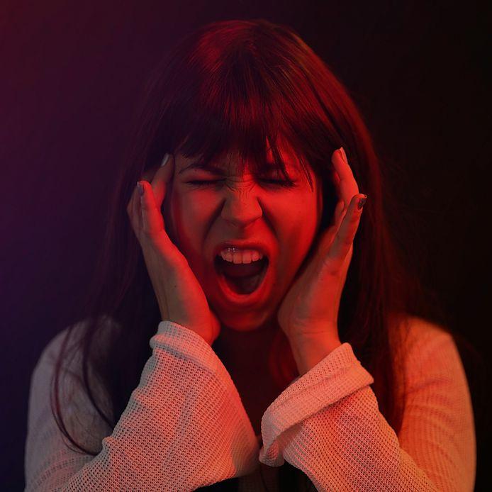 Jonge moeders kunnen in de schreeuwtempel lekker stampen en schelden, volgens de initiatiefnemers van de relaxochtend. Foto ter illustratie