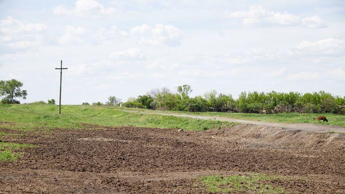 Grabovo, het gebied waar vlucht MH17 een jaar geleden neerstortte