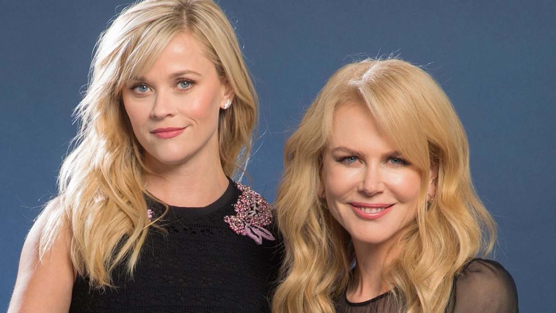 Reese Witherspoon & Nicole Kidman: 'Vijfentwintig jaar lang was ik de enige vrouw op de filmset. Ik heb me lang genoeg Smurfin gevoeld' Beeld Orlando Sentinel