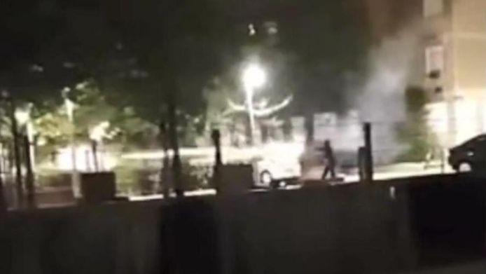 Twee agenten aangevallen in de Marollen, Brussel.