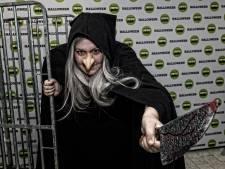 Christenen protesteren tegen Halloween Walk tijdens optocht
