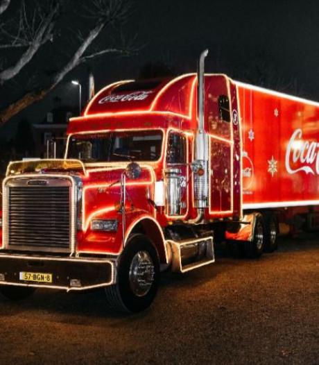 Wereldberoemde Coca-Cola-kersttruck komt naar Den Haag