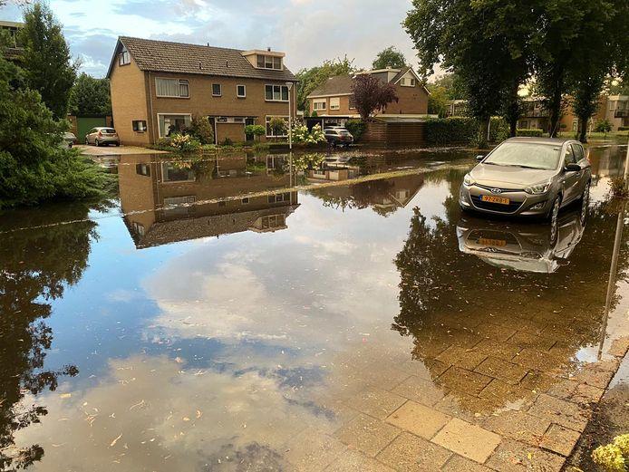 In de Wierdense wijk Plan Oost zorgde afgelopen zomer extreme regenval voor veel wateroverlast.