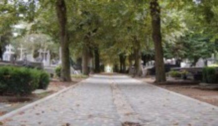 De oude begraafplaats in Roeselare