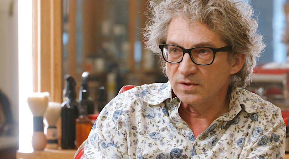 Frénk van der Linden in De Geknipte Gast.