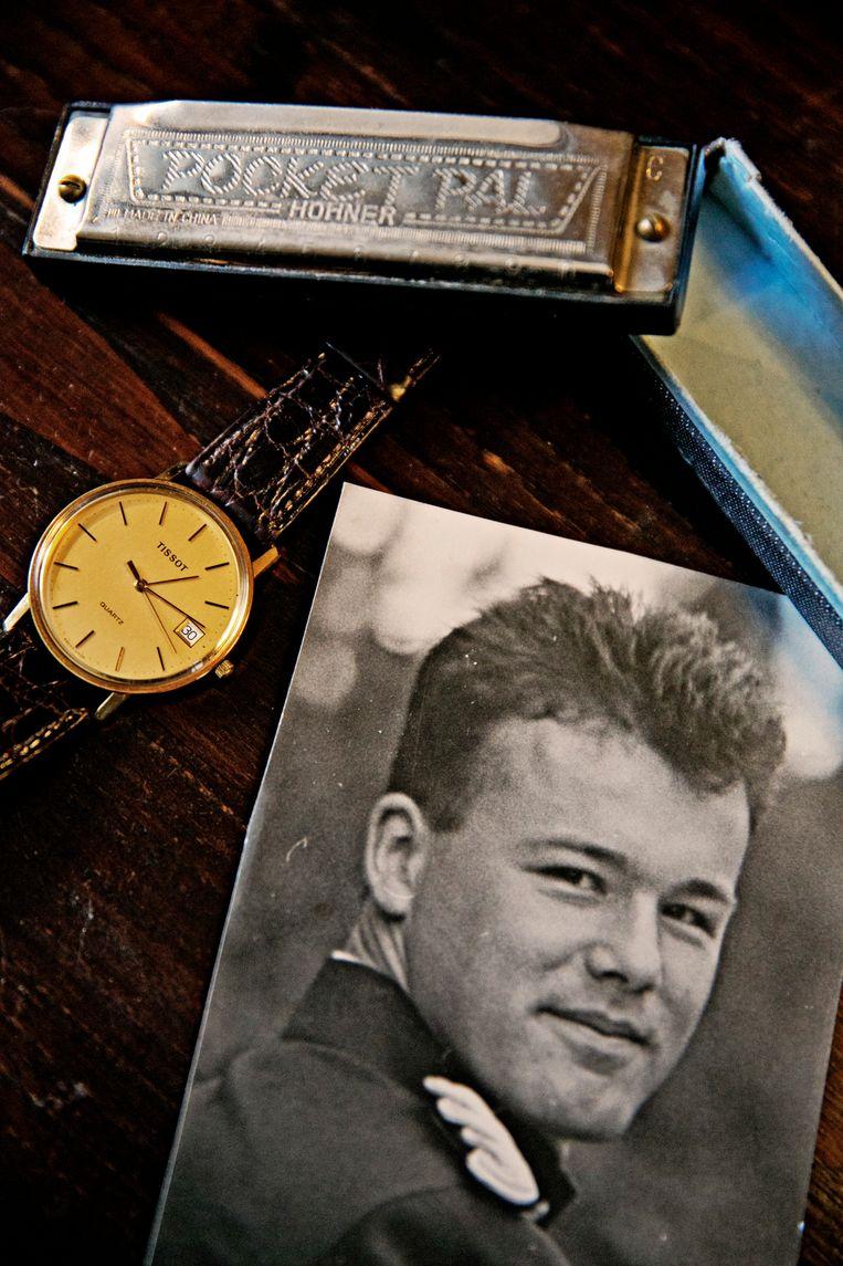 Luitenant Thierry Lotin werd samen met negen collega's vermoord op 7 april 1994. Een kwarteeuw later zitten de families nog altijd met veel vragen. Beeld Tim Dirven