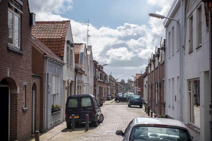 Tholenstraat in Terneuzen.