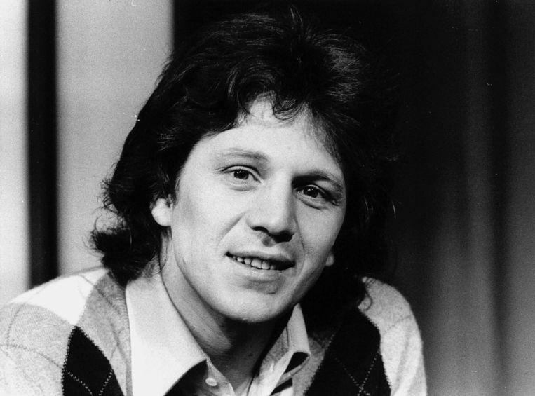 Gérard Lenorman, bekend van zijn hit 'La ballade des gens heureux', in 1976. Beeld Anp