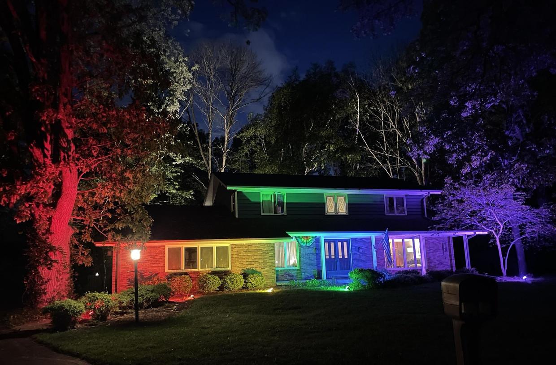 Het huis in Wisconsin Beeld Memo Fachino, Lance Mier