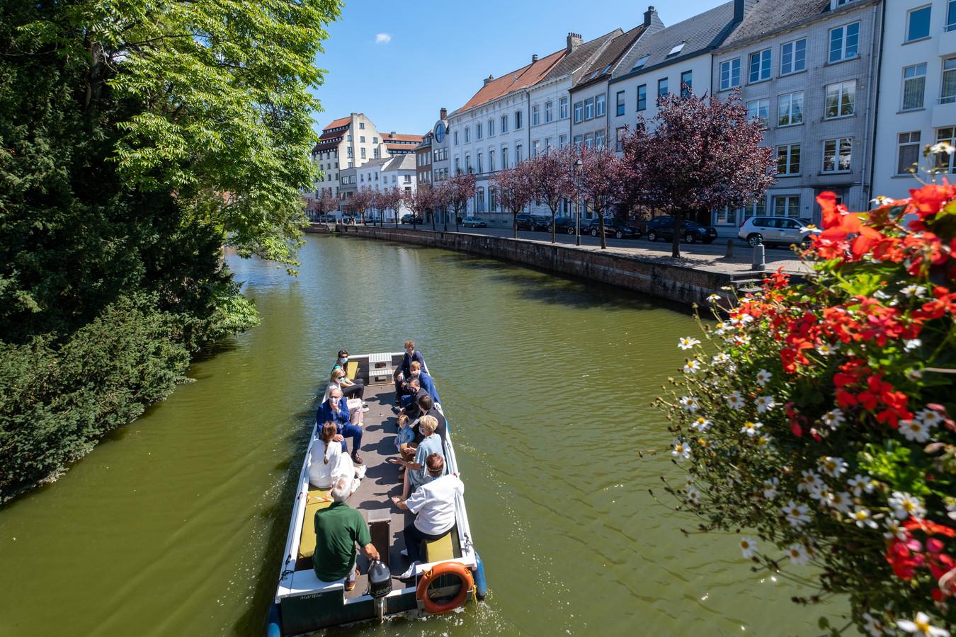 De Moedige Bootvissers organiseren deze zomer een zoektocht in de Lierse binnenstad.