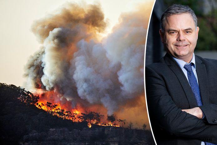 Pascal Paepen werd zelf al geconfronteerd met bosbranden op reis.