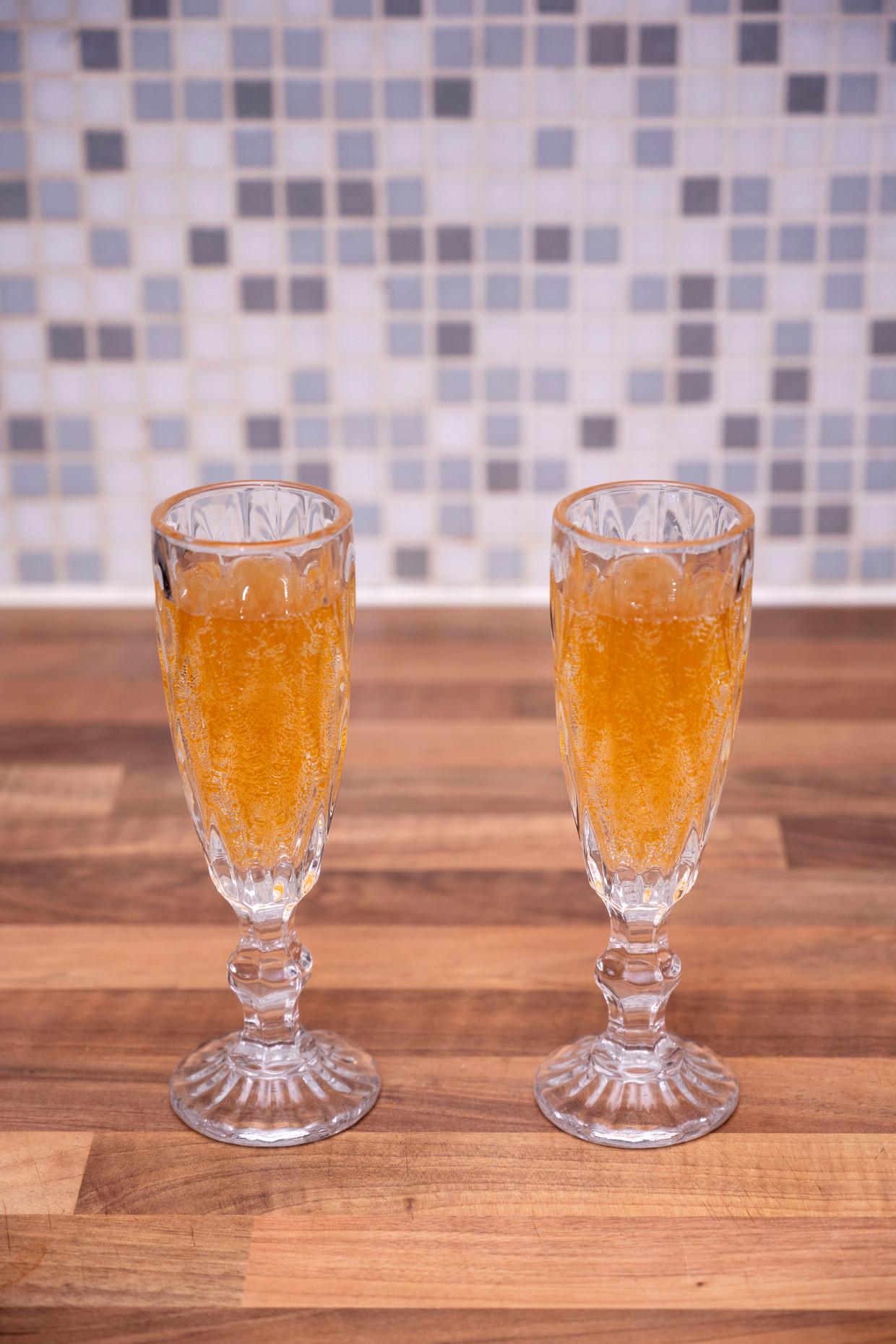 Kvas: lichtzoet, fris en een beetje gistig en granig, met fijne bubbeltjes. Beeld Els Zweerink