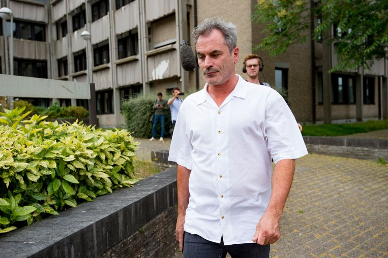 Acteur Guy Van Sande. Beeld Photo News