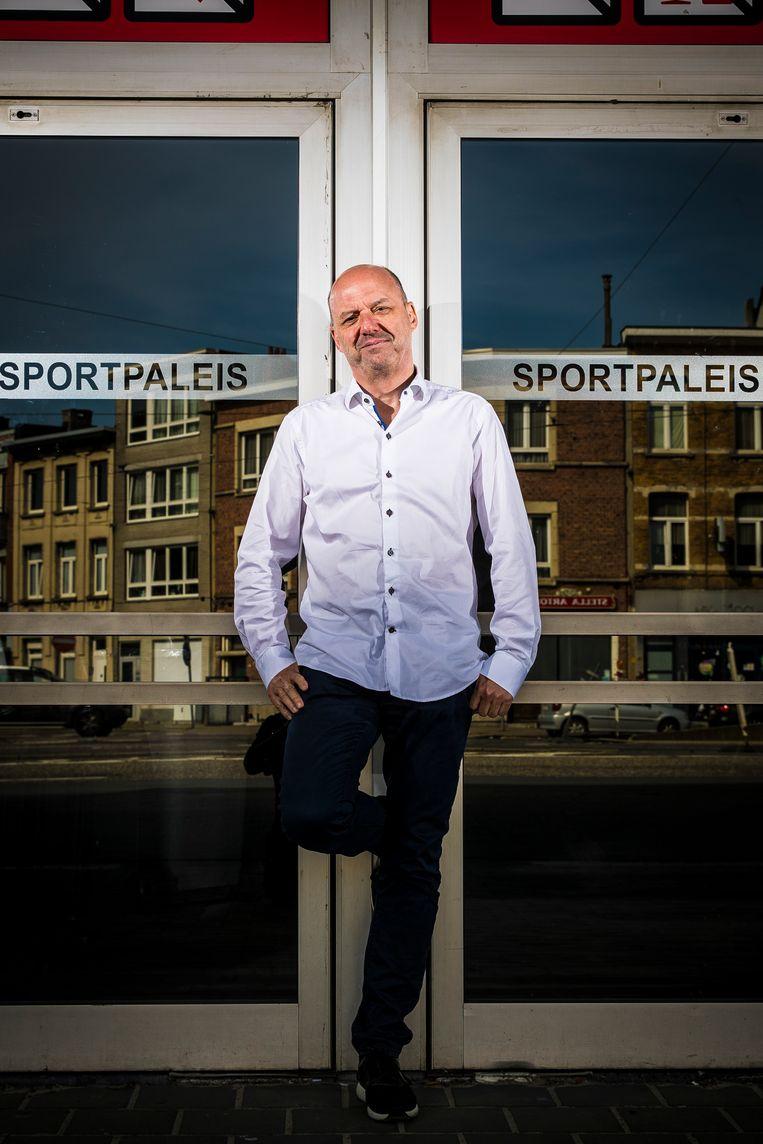 Jan Van Esbroeck: 'We zitten normaal op een omzetcijfer van 40 miljoen euro, dat zal dit jaar herleid worden tot 0 euro.' Beeld Jan De Meuleneir / Photo News