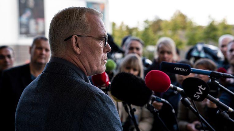 Søren Malling in 'The Investigation' Beeld VRT