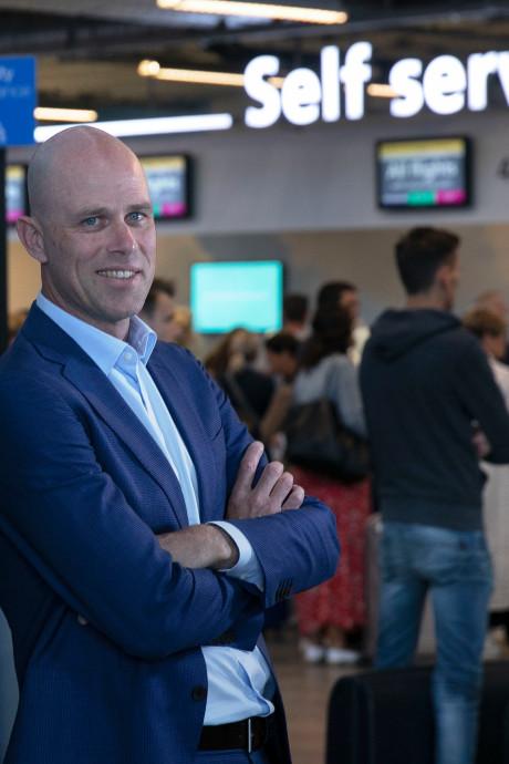 Nieuwe directeur Roel Hellemons: 'Eindhoven Airport wordt geen overloop voor Schiphol'