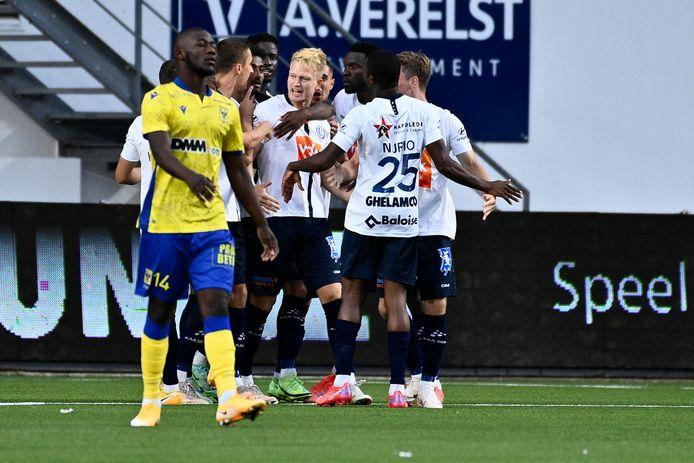 Andreas Hanche-Olsen scoorde na iets meer dan één minuut spelen.