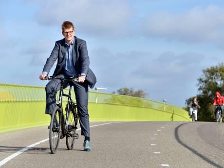 Nijmegen krijgt 'park + bike': auto bij Nyma en op fiets verder naar de stad