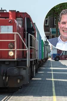 Komen de smartphones, koffiebonen en bananen Oost-Nederland straks binnen via station Hessenpoort bij Zwolle?