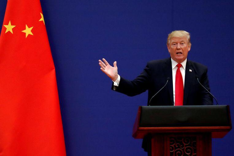 Amerikaans president Donald Trump. Beeld Thomson Reuters