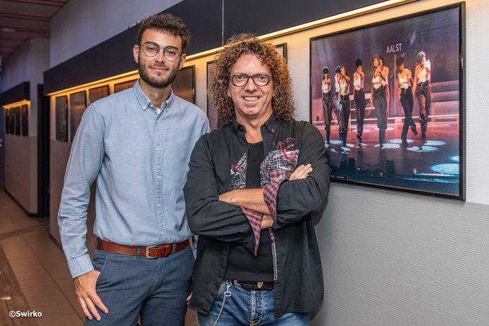 Tjorven Pletinckx-Swinnen en Patrick De Coninck.