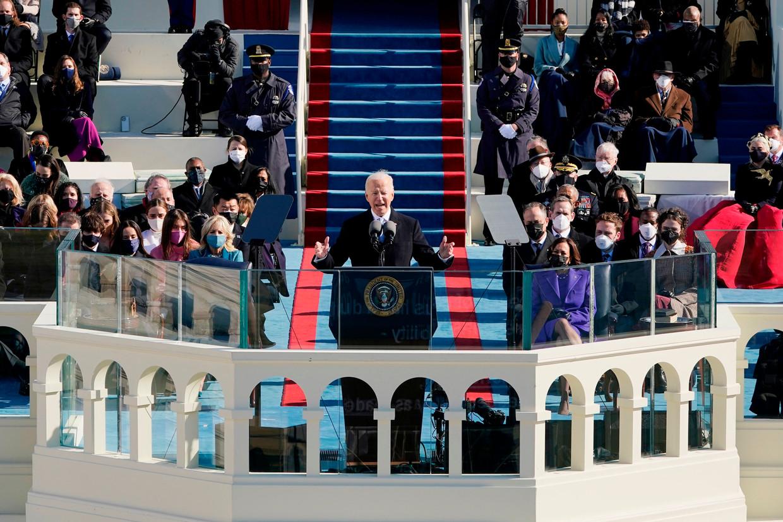 Joe Biden, president van de Verenigde Staten.  Beeld AFP