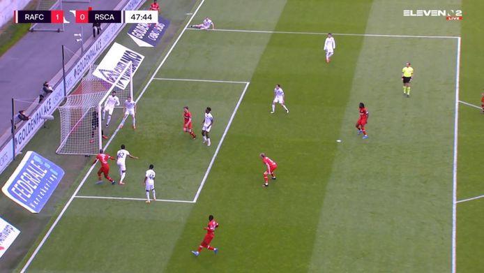 Is de kopbal van Lamkel Zé al dan niet achter de doellijn?