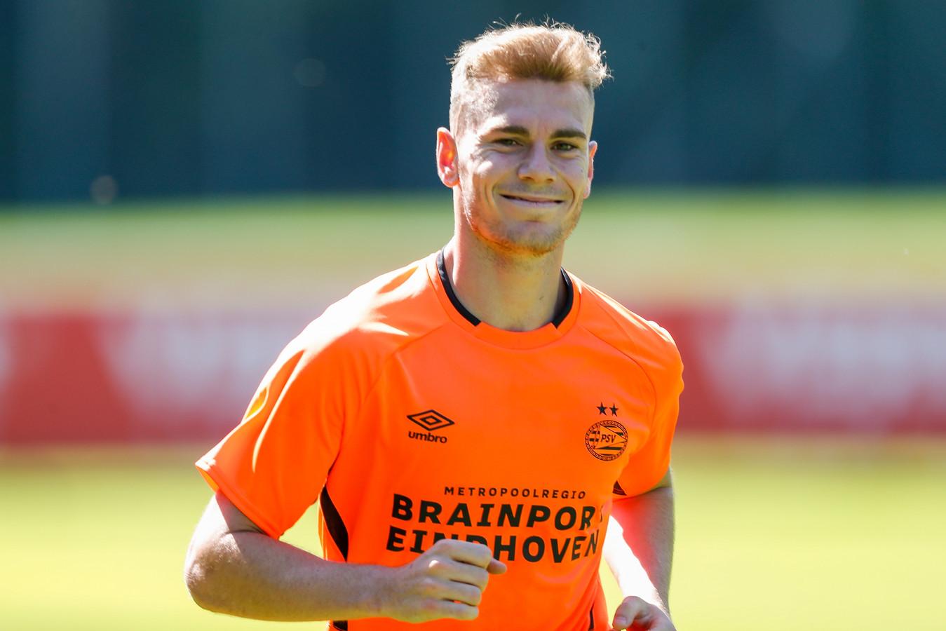 Toni Lato, de nieuwe linksback van PSV.