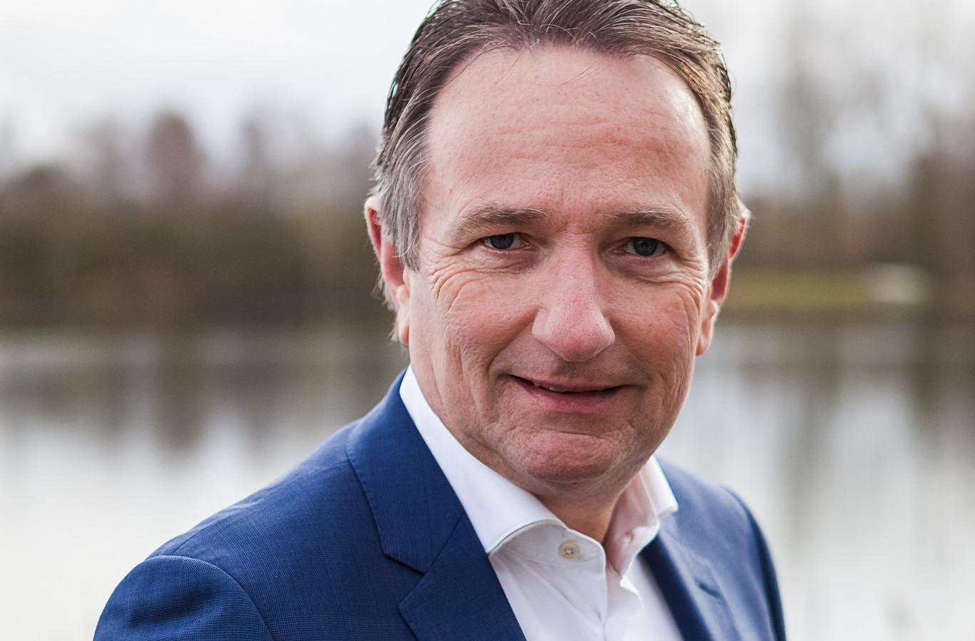 CEO Ton van der Giessen van Van Werven Recycling uit Oldebroek.