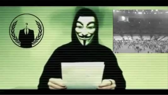 Anonymous kondigde eerder deze maand een reeks cyberaanvallen op IS aan.