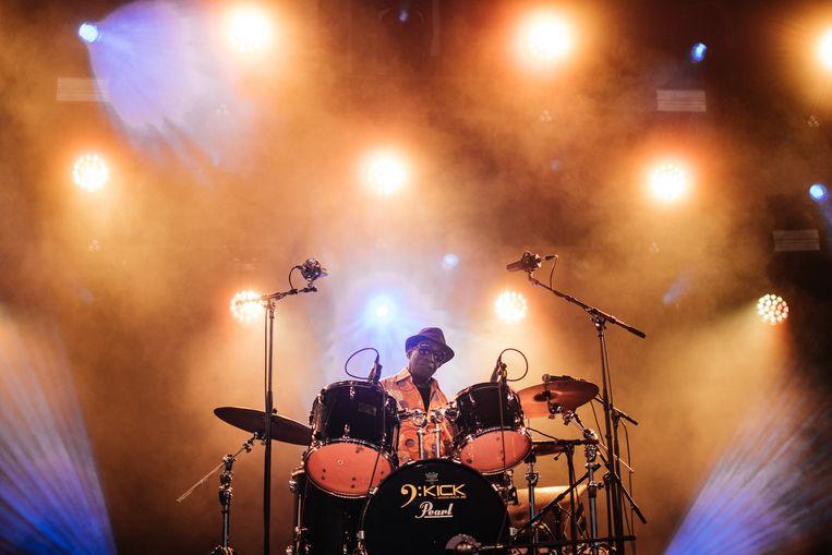 Tony Allen dit jaar op Jazz Middelheim Beeld Wouter Van Vooren