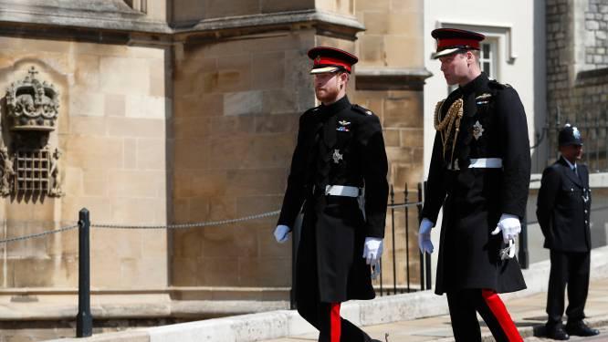 """Harry en William zien elkaar pas terug op Philips begrafenis: """"Ze spreken alleen via de telefoon"""""""