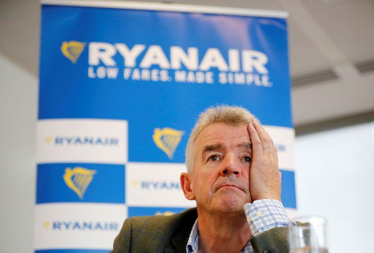 Ryanair-topman Michael O'Leary. Beeld AFP