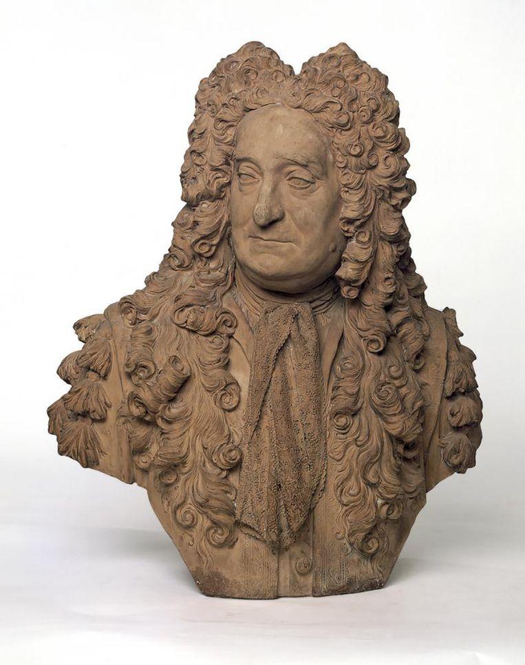 De buste van Hans Sloane in het British Musem.   Beeld British Musem