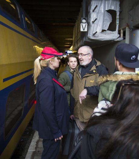 Machinist zet trein stil na bedreiging conductrice