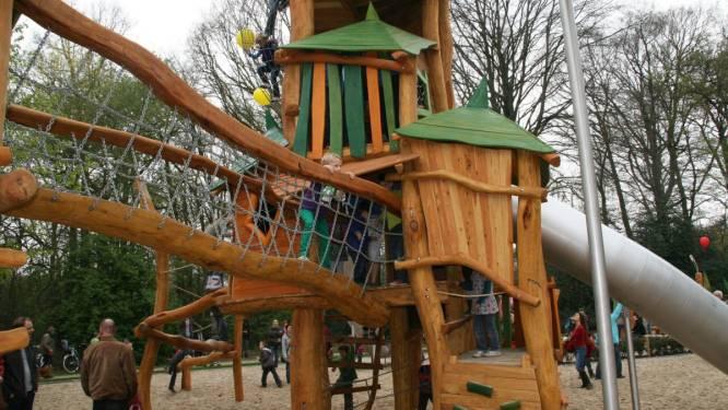 Speeltuin gemeentepark Kapellen beperkt toegankelijk door herstellingswerken