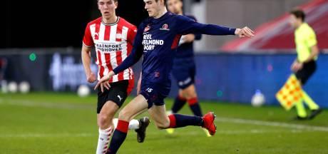 Helmond Sport verspeelt overwinning op Jong PSV in draak van een wedstrijd