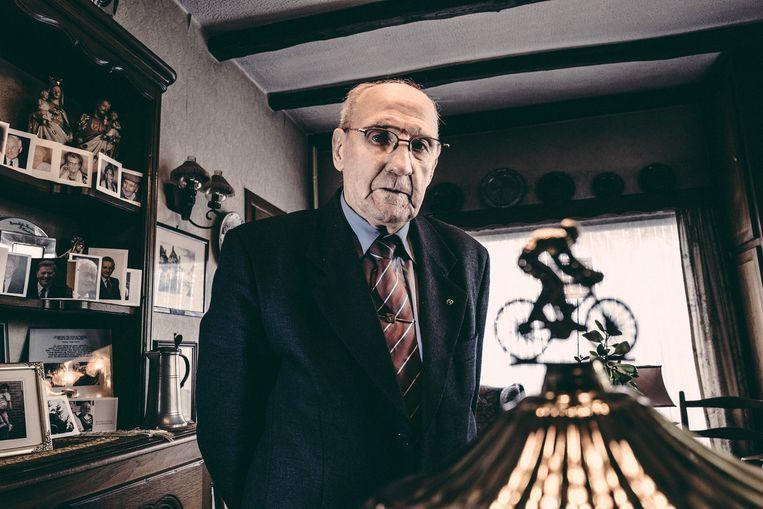 Roger Decock is de oudste nog levende winnaar van de Ronde van Vlaanderen. Beeld Dimitri Van Zeebroeck
