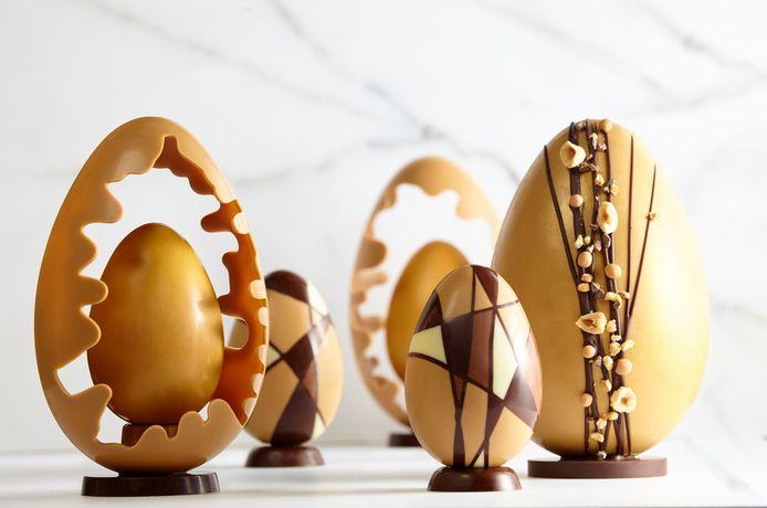 Chocolade is populair met Pasen.