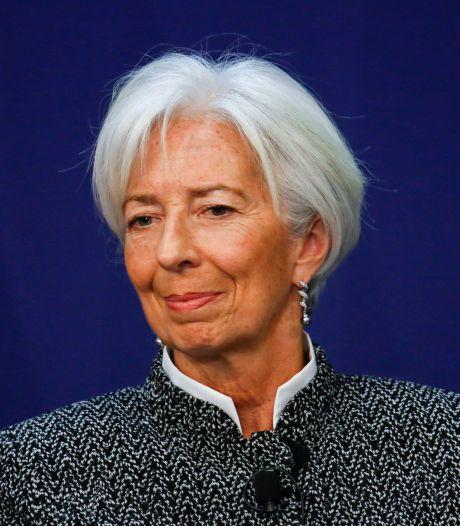 """Lagarde ne veut pas d'une """"guerre commerciale"""""""